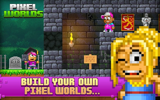 Pixel Worlds(Portal Worlds) 1.0.70 apk screenshot